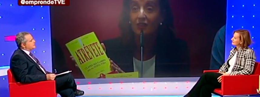 Juana Erice en TVE programa Emprende